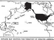 Map of the United States of America and its colonies, dependencies and protectorates, 1899.