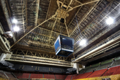Maple Leaf Gardens, a former hockey arena in Toronto, Canada.