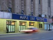 Maple Leaf Gardens, Toronto, Canada