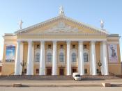 Opera House in Chelyabinsk, Russia.