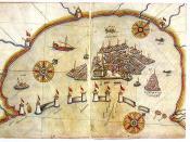 English: Venice in Italy on the Kitab-ı Bahriye (Book of Navigation) of Piri Reis
