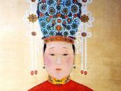The Official Imperial Portrait of Ming Dynasty's Empress