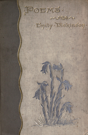 Cover to a book of Poetry by Emily Dickinson