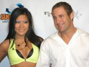 English: Christina Aguchi and Jack Lawrence at Britney Rears 3 party, September 23 2006