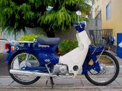 Honda Press Cub model 50 cc