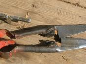 Blade Shears used in demonstration at the New York Sheep & Wool Fair 2007