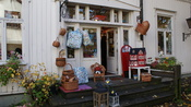 Retro toy store with handmade toys, Homansbyen, St. Hanshaugen, Oslo.