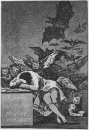 No. 43, The Sleep of Reason Produces Monsters