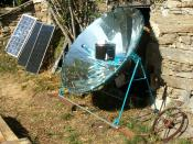 English: Solar cooker or solar barbecue Alsol 1.4 made in Spain: more information on http://www.solarcookingatlas.com Français : Cuisinière solaire ou barbecue solaire Alsol 1.4 fabriqué en Espagne: plus d'informations sur http://www.atlascuisinesolaire.c