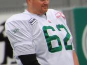 English: Kelly Bates during a Saskatchewan Roughriders practice.