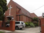 English: Saint Aphrem Syrian Orthodox Church - Victoria - Australia.