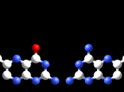 Folic acid (left) compared to methotrexate (right).