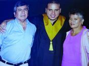 Jimenez Mota y familia