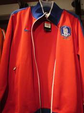 A Nike South Korea N98 Men's Soccer Track Jacket.