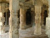The Pillars depicts Socio- economic conditions of the period