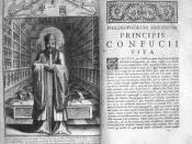 Confucius Sinarum Philosophus (