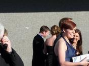 Dermot O'Leary and Pixie McKenna at the BAFTA's