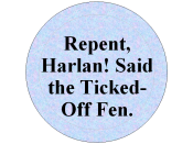 Design for button RE Harlan Ellison/Connie Willis incident