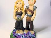 Polymer Clay Cake Topper