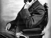 Portrait of Alfred Nobel (1833-1896) by Gösta Florman (1831–1900).