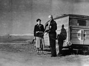 English: Canadian Blood Transfusion Unit which operated during the Spanish Civil War. Dr. Norman Bethune is at the right. ca. 1936 - 1937 / Spain Italiano: Unità transfusionale canadese durante la Guerra civile spagnola. A destra il dott. Norman Bethune.