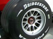 """Bridgestone_Potenza_Formula_One_Tire"" ToyotaAmlux,Show room Tokyo, Japan Category:Bridgestone"