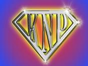 knp superman logo