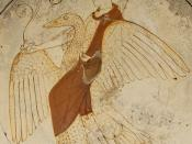Aphrodite on a swan. Tondo from an Attic white-ground red-figured kylix. From tomb F43 in Kameiros (Rhodes).