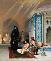 Pool in a Harem.