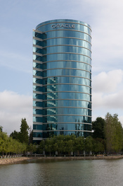 English: Oracle Corporation headquarters, building 300, in Redwood Shores, Redwood City, California.