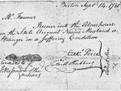Ezek Price Receipt September 14, 1780 - NARA - 192888
