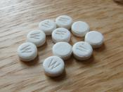 Ephedrine tablets