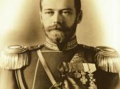 November 1: Nicholas II becomes Tsar of Russia.