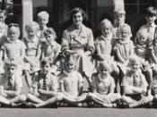 Mrs Woods class Westlands Primary 1961
