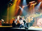 English: Iron Maiden during Ed Hunter tour