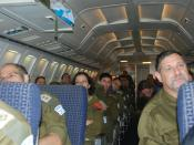 Flickr - Israel Defense Forces - Plane Briefing for Delegation Members