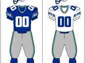 Seattle Seahawks uniform, 1983–2001