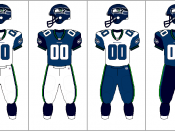 Seattle Seahawks uniform combination
