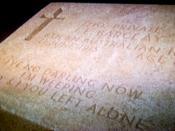 English: Grave marker, Gallipoli Türkçe: Mezar taşı, Gelibolu