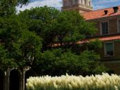 English: Administration building at Texas Tech University in Lubbock, Texas.