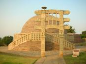 English: Stupa no. 3, Sanchi