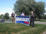 Conlin vs. Grassley on Iowa Press 002