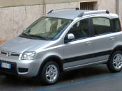 English: Fiat Panda 4x4 2010 facelift.