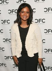 English: The actress Tonya Lee Williams attends The Canadian Film Centre cocktail reception celebrating the Telefilm Canada Features Comedy Lab held at Avalon Hotel on March 9, 2011 in Beverly Hills, California. Italiano: L'attrice Tonya Lee Williams al C