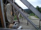 English: Part of the watermill at Barkerville, British Columbia, Canada