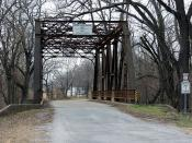 Pryor Creek Bridge - Chelsea, OK