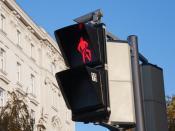 English: Bicycle traffic lights in Vienna, Austria Deutsch: Eine Fahrradampel in Wien