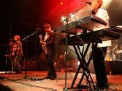 Deutsch: The Hooters bei einem Auftritt in Hamm