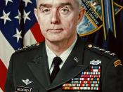 General Barry McCaffrey