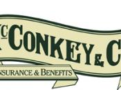 English: McConkey Benefits & Financial Services Logo